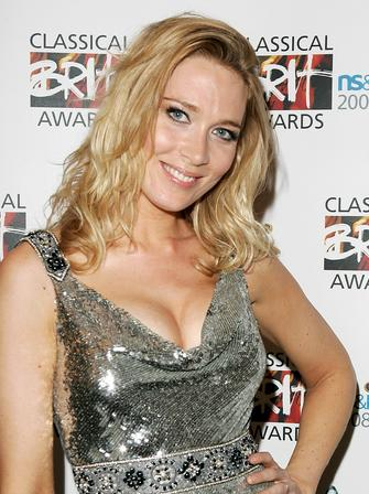 Natasha Marsh at the Classical Brits 2008