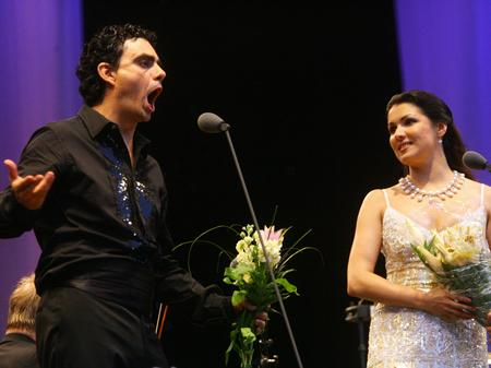 Anna Netrebko and Rolando Villazon