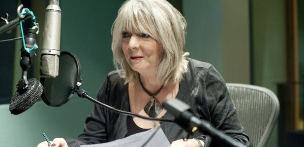 Alison Steadman recording Words For You