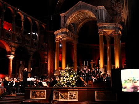 alma mater, westminster cathedral