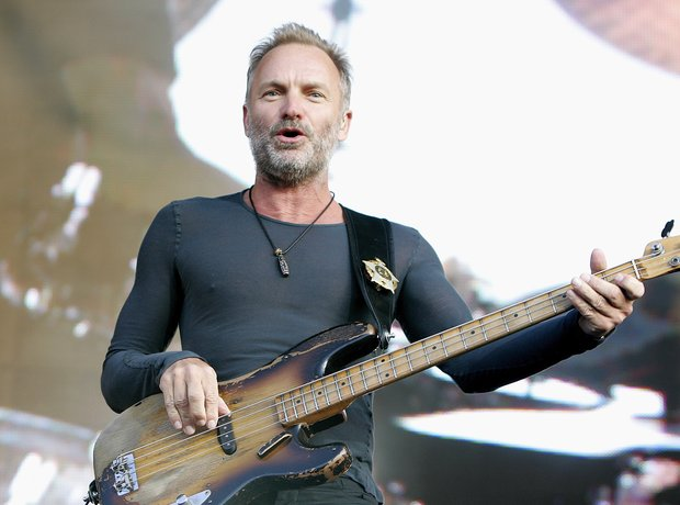 Fields of Gold's composer Sting
