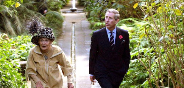 Lady Walton and Prince Charles