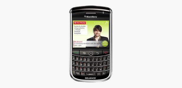 blackberry classic fm
