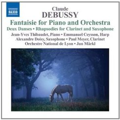 Debussy Fantaisie for piano and orchetra Jun Markl