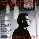 Tchaikovsky album cover
