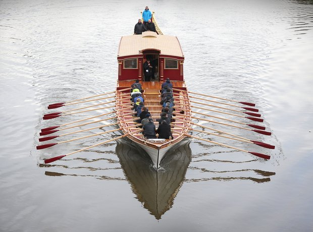Royal Barge Gloriana