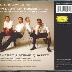 Bach Emerson String Quartet Art of Fugue