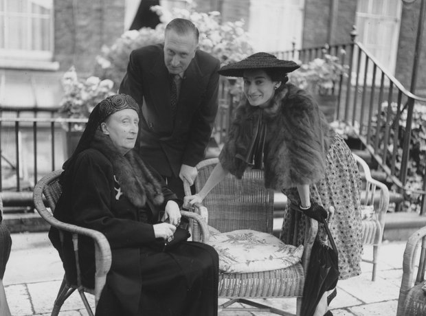William Walton and Edith Sitwell