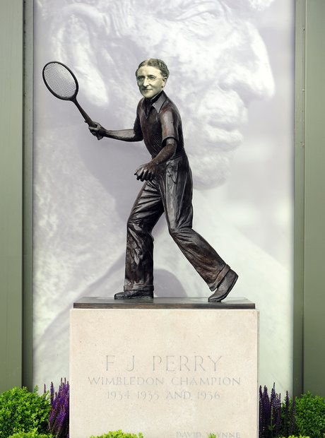 Ketelbey Fred Perry statue Tennis