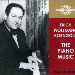Korngold Piano Music Martin Jones