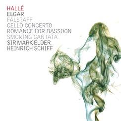 Elgar Heinrich Schiff Hallé Orchestra Mark Elder