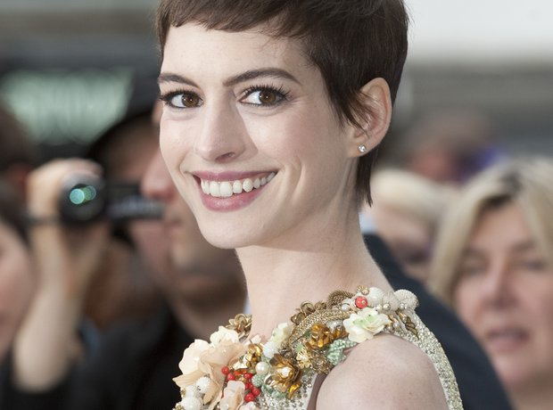 Anne Hathaway 'The Dark Kinght Rises' Premiere
