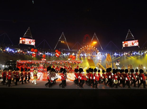 British Military Band at the Olympics London 2012
