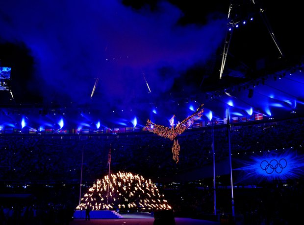 Darcey Bussell at the Olympics London 2012 Closing
