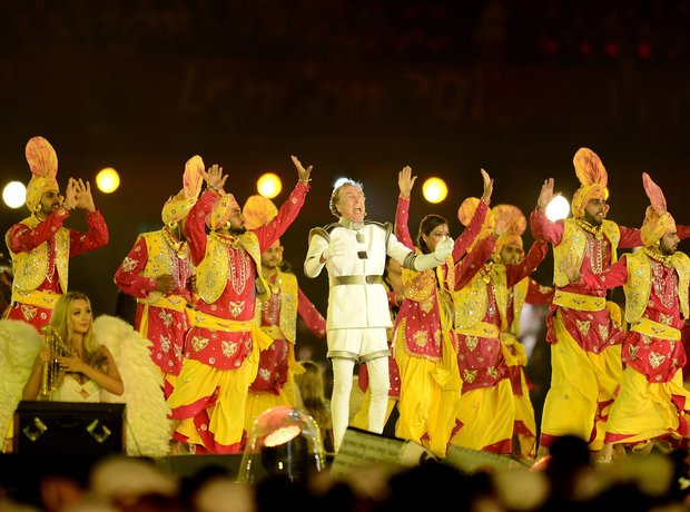Eric Idle live at the Olympics London 2012 Closing