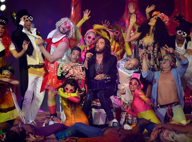 Russel Brand Olympic Closing Ceremony 2012