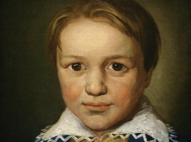 Young Beethoven aged 13