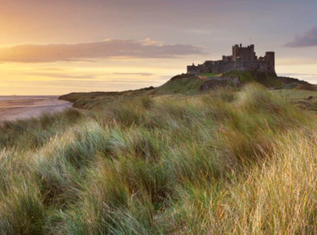 Bamburgh Castle Northumbria