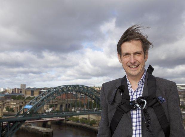 Jamie Crick in Gateshead