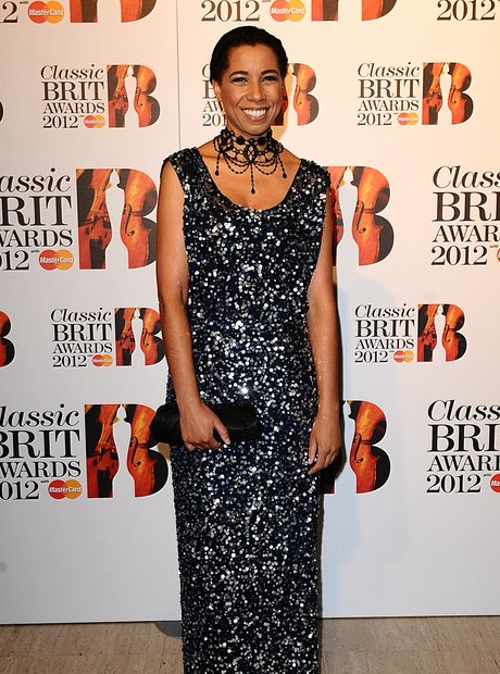 Margherita Taylor at the Classic BRIT Awards 2012