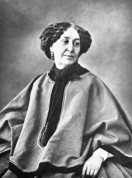Chopin's lover George Sand Nadar