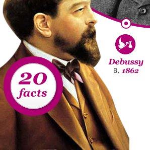 Debussy Born 1862