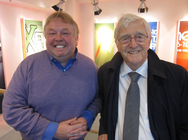 Nick Ferrari and Michael Parkinson