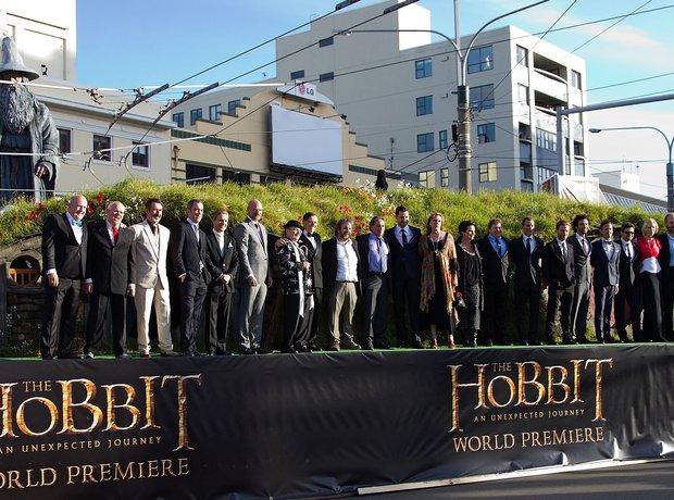 The Hobbit Premiere