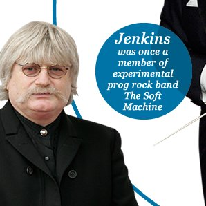Jenkins was once a member of experimental prog rock band The Soft Machine