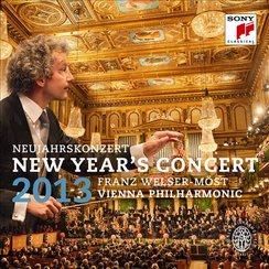 Vienna New Year's Day Concert 2013 Album cover