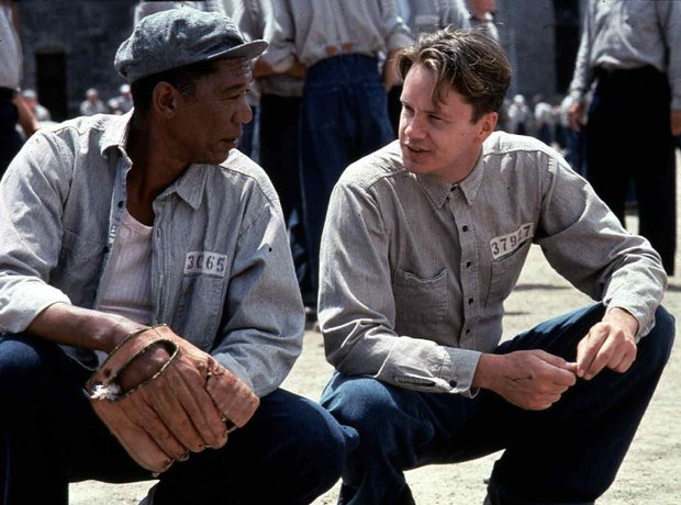 Shawshank Redemption Tim Robbins Morgan Freeman