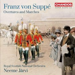 franz suppe overtures marches album cover