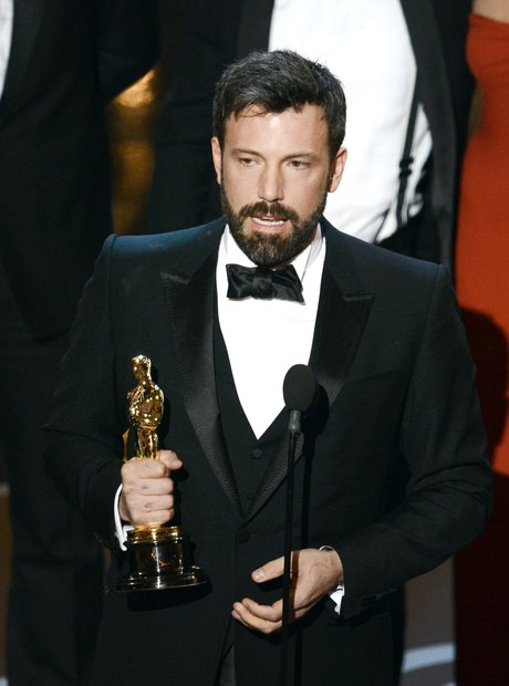 Ben Affleck on stage at the Oscars 2013