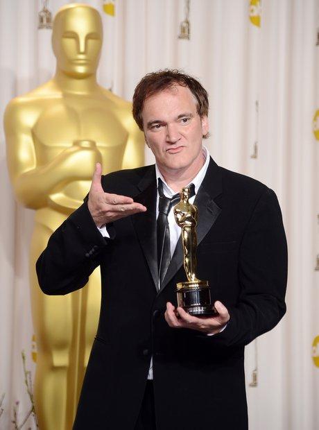 Quentin Tarantino at the Oscars 2013
