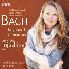 Anastasia Injushina bach album cover