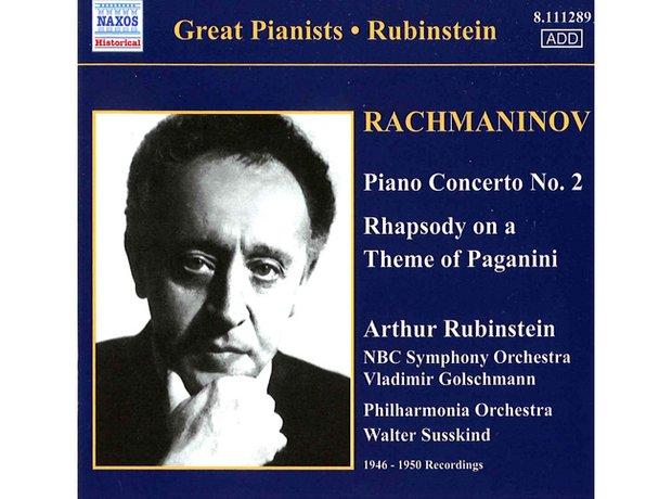Rachmaninov Piano Concerto no.2 album cover