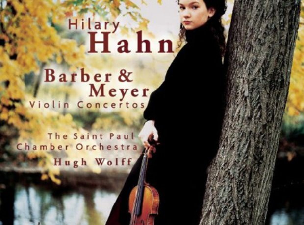 165 Barber, Violin Concerto, by Hilary Hahn