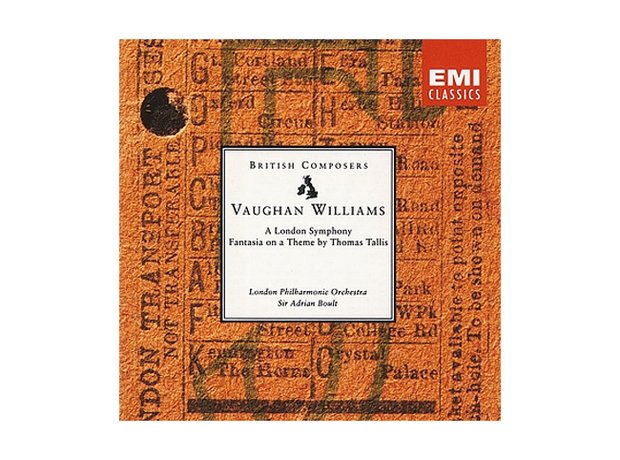 Vaughan Williams Fantasia on a Theme of Thomas Tallis album cover