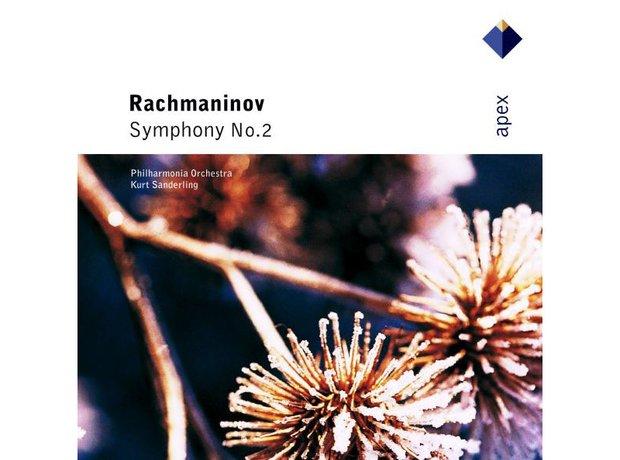 Rachmaninov Symphony No.2 in E minor Opus 27 album cover