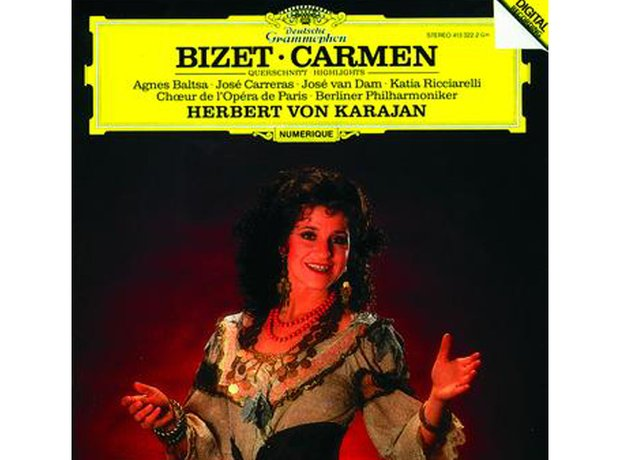 Bizet Carmen (includes Habanera, Toreador's Song,