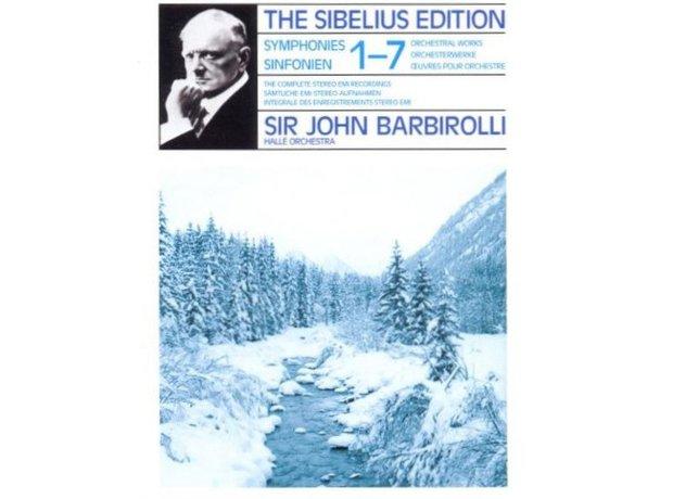 Sibelius Symphony No.5 in E flat major Opus 82 album cover