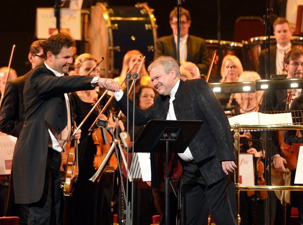Michael Collins Classic FM Live 2013 the performan