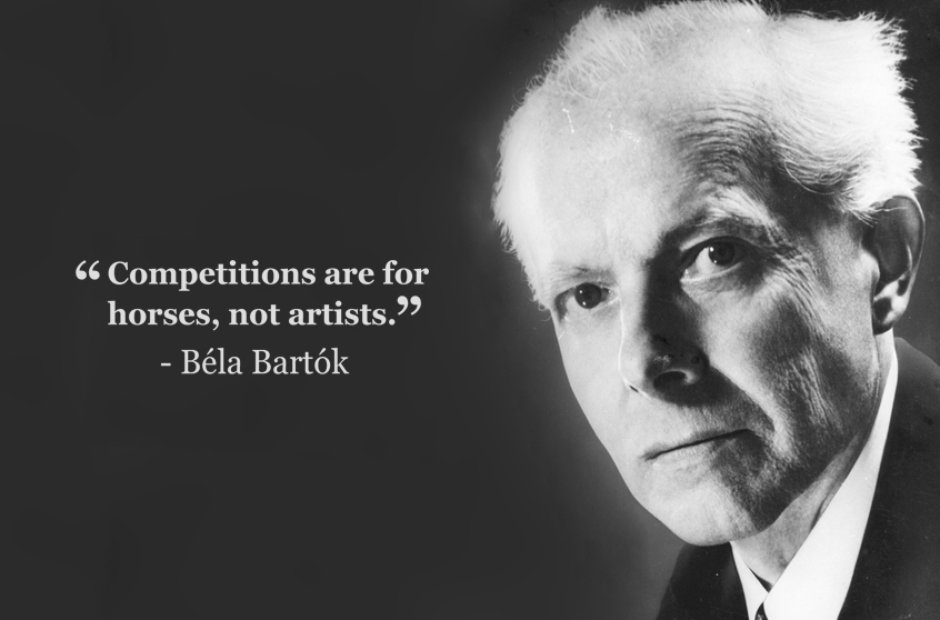 bela bartok competitions are for horses