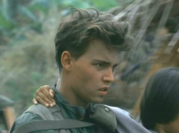 Johnny Depp Platoon