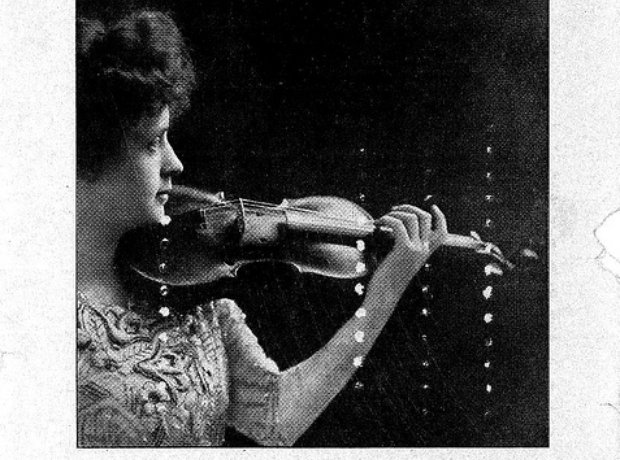 Davenport-Engborg woman conductor violinist