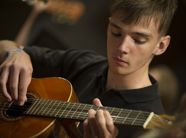 Selby Music Centre Senior Guitar Ensemble
