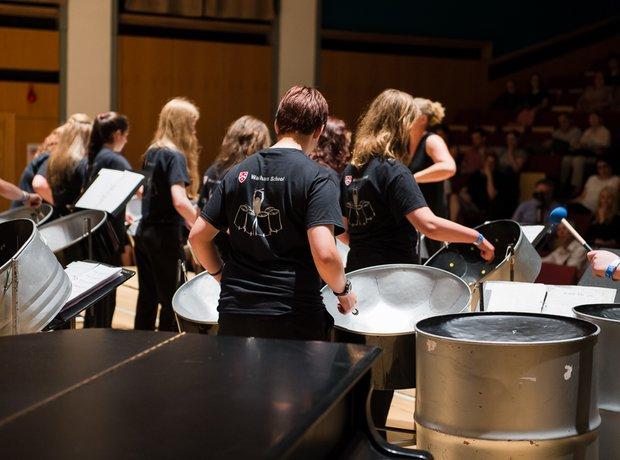 Wadham Steel Drummers