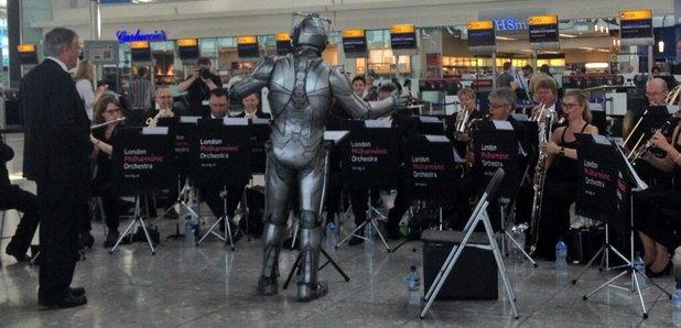 London Philharmonic Orchestra cyberman