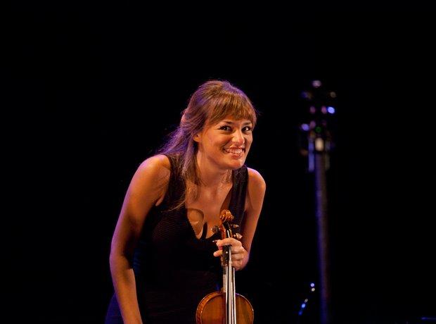 Nicola Benedetti at the Bristol Proms