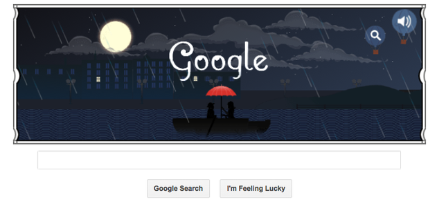 Debussy 151st birthday google doodle